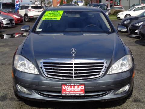 2008 Mercedes-Benz S-Class for sale at Vallejo Motors in Vallejo CA