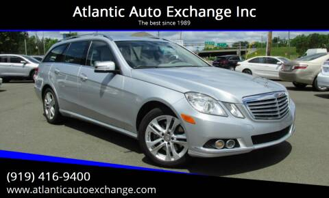 2011 Mercedes-Benz E-Class for sale at Atlantic Auto Exchange Inc in Durham NC
