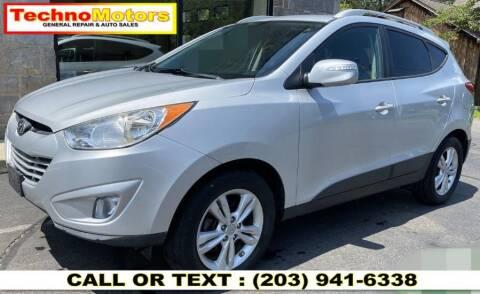 2013 Hyundai Tucson for sale at Techno Motors in Danbury CT