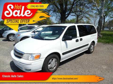 2003 Chevrolet Venture for sale at Classic Auto Sales in Maiden NC