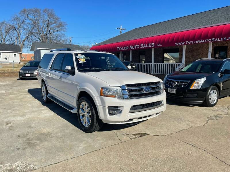 2017 Ford Expedition EL for sale at Taylor Auto Sales Inc in Lyman SC