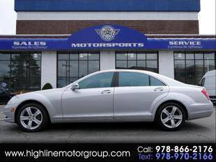 2011 Mercedes-Benz S-Class for sale at Highline Group Motorsports in Lowell MA