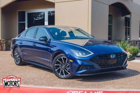 2020 Hyundai Sonata for sale at Mcandrew Motors in Arlington TX