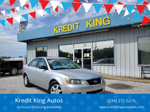 2006 Hyundai Sonata for sale at Kredit King Autos in Montgomery AL