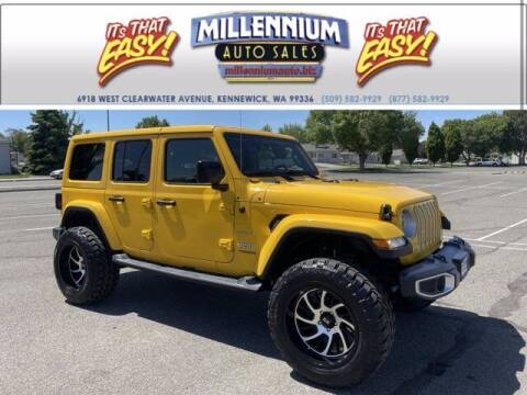2019 Jeep Wrangler Unlimited for sale at Millennium Auto Sales in Kennewick WA
