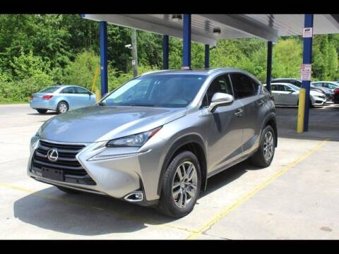 2015 Lexus NX 200t for sale at Inline Auto Sales in Fuquay Varina NC