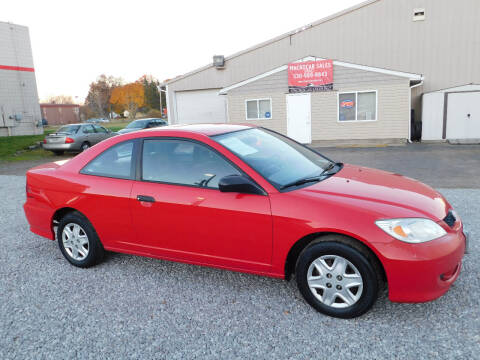 2004 Honda Civic for sale at Macrocar Sales Inc in Akron OH