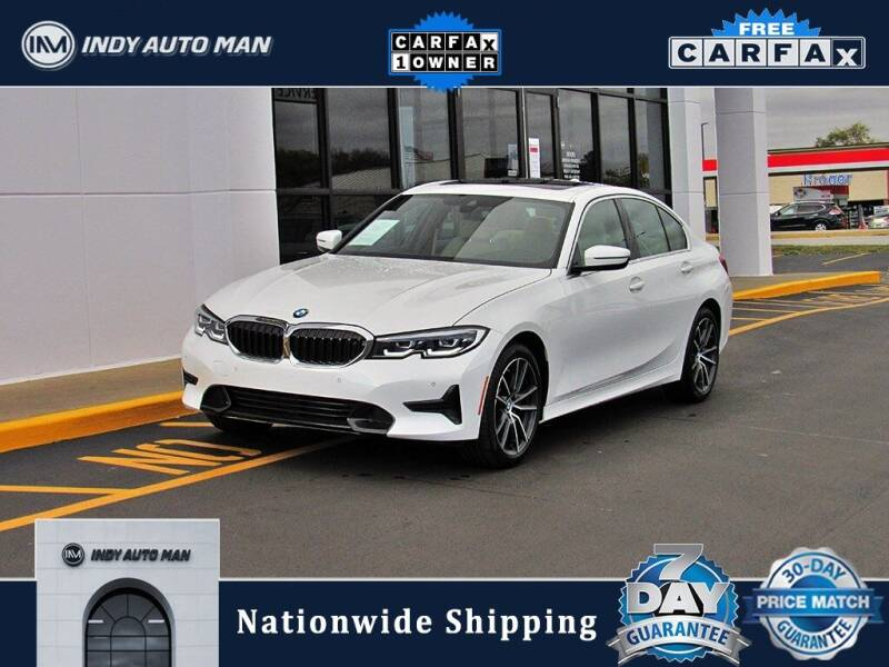 2019 BMW 3 Series for sale at INDY AUTO MAN in Indianapolis IN