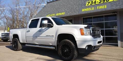 2012 GMC Sierra 2500HD for sale at Kevin Lapp Motors in Flat Rock MI