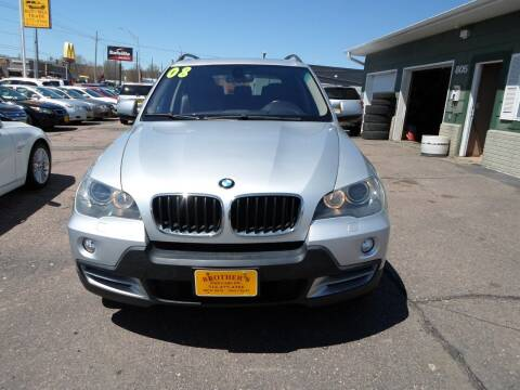2008 BMW X5 for sale at Brothers Used Cars Inc in Sioux City IA