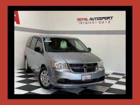 2015 Dodge Grand Caravan for sale at Royal AutoSport in Sacramento CA
