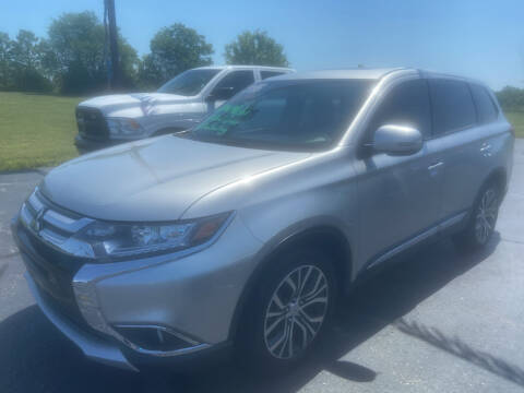 2018 Mitsubishi Outlander for sale at EAGLE ONE AUTO SALES in Leesburg OH