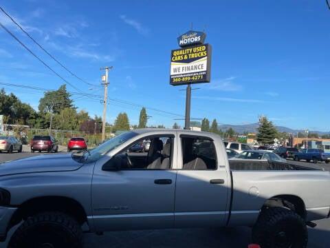 2002 Dodge Ram Pickup 1500 for sale at Westside Motors in Mount Vernon WA