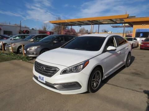 2015 Hyundai Sonata for sale at Nile Auto Sales in Denver CO