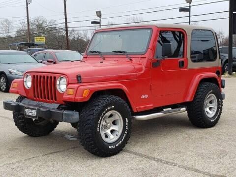 1999 Jeep Wrangler for sale at Tyler Car  & Truck Center in Tyler TX