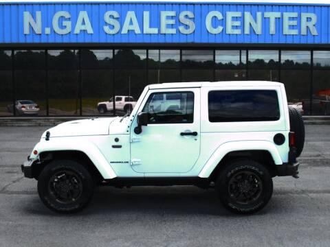 2016 Jeep Wrangler for sale at NORTH GEORGIA Sales Center in La Fayette GA