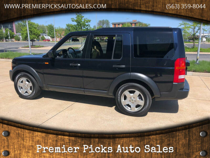 2006 Land Rover LR3 for sale at Premier Picks Auto Sales in Bettendorf IA