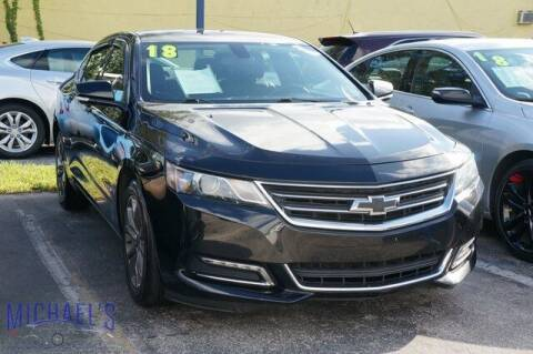 2018 Chevrolet Impala for sale at Michael's Auto Sales Corp in Hollywood FL