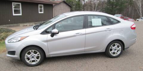 2015 Ford Fiesta for sale at AUTOHAUS in Tomahawk WI