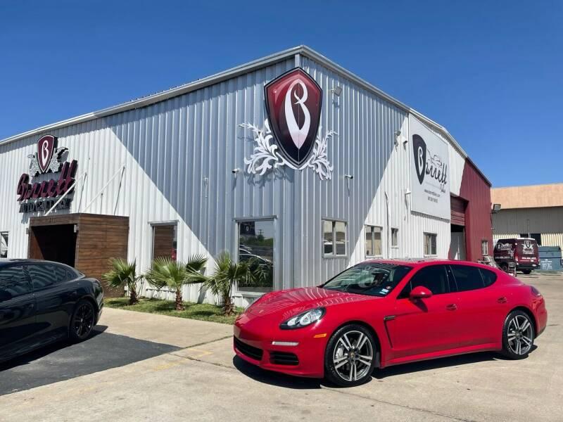2016 Porsche Panamera for sale at Barrett Auto Gallery in San Juan TX