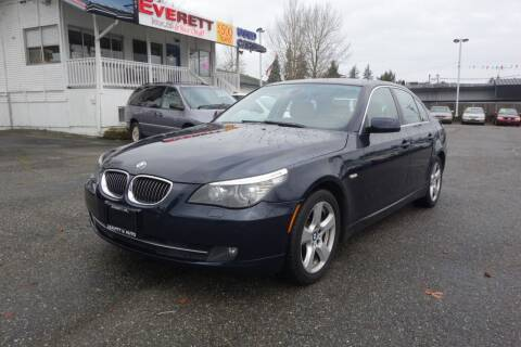2008 BMW 5 Series for sale at Leavitt Auto Sales and Used Car City in Everett WA