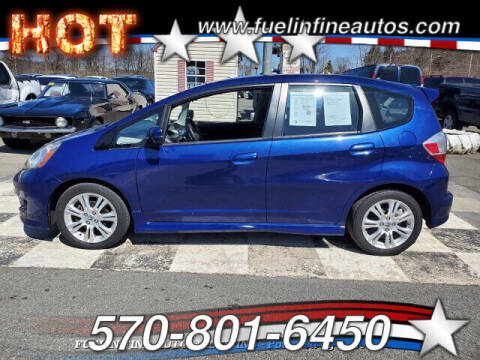 2011 Honda Fit for sale at FUELIN FINE AUTO SALES INC in Saylorsburg PA