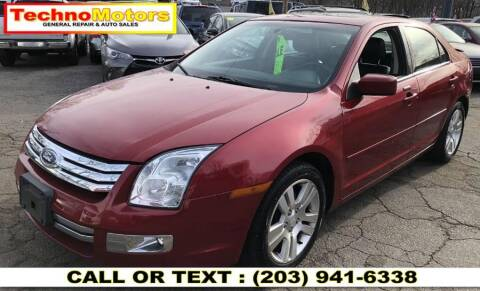 2008 Ford Fusion for sale at Techno Motors in Danbury CT