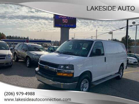 2018 Chevrolet Express Cargo for sale at Lakeside Auto in Lynnwood WA