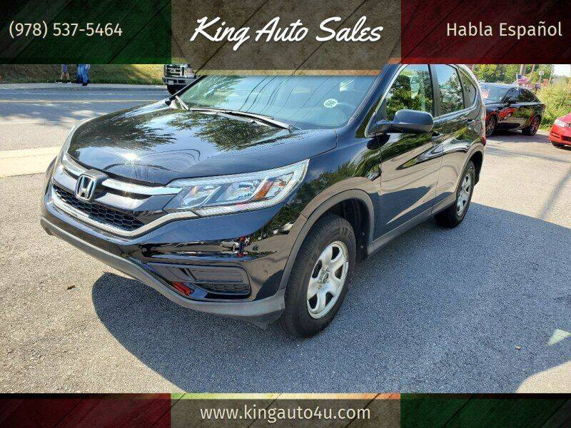 2016 Honda CR-V for sale at King Auto Sales in Leominster MA