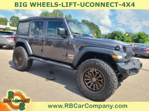 2020 Jeep Wrangler Unlimited for sale at R & B Car Co in Warsaw IN