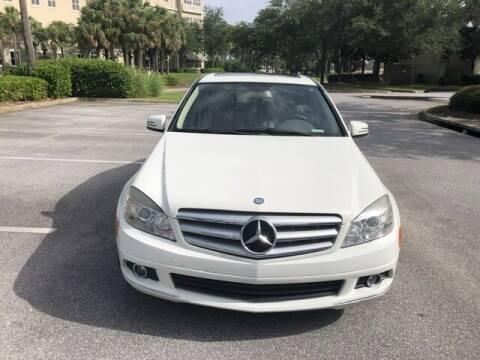 2010 Mercedes-Benz C-Class for sale at Gulf Financial Solutions Inc DBA GFS Autos in Panama City Beach FL
