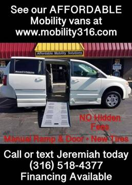 2010 Dodge Grand Caravan for sale at Affordable Mobility Solutions, LLC - Mobility/Wheelchair Accessible Inventory-Wichita in Wichita KS