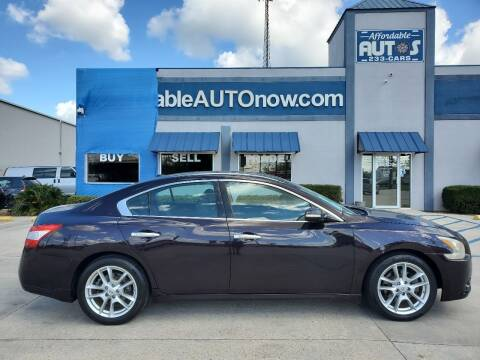 2010 Nissan Maxima for sale at Affordable Autos in Houma LA