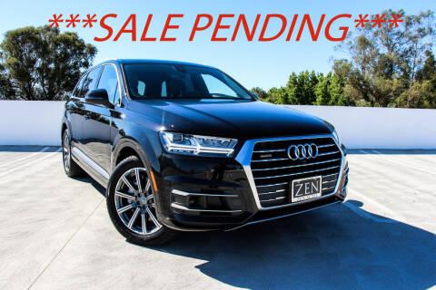 2018 Audi Q7 for sale at Zen Auto Sales in Sacramento CA