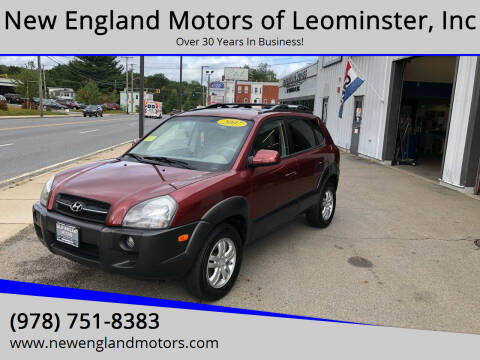 2007 Hyundai Tucson for sale at New England Motors of Leominster, Inc in Leominster MA