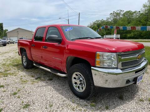 2012 Chevrolet Silverado 1500 for sale at Court House Cars, LLC in Chillicothe OH