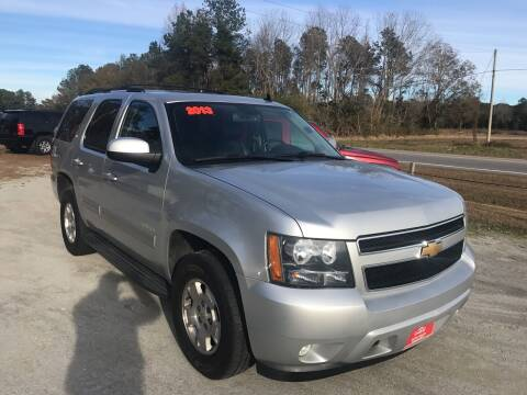 2013 Chevrolet Tahoe for sale at Southtown Auto Sales in Whiteville NC