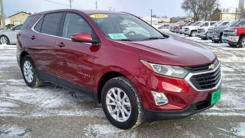 2018 Chevrolet Equinox for sale at Unzen Motors in Milbank SD