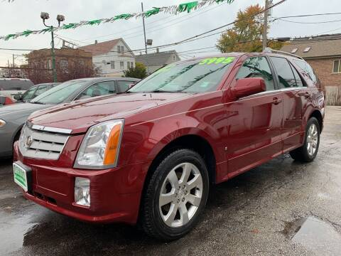 2007 Cadillac SRX for sale at Barnes Auto Group in Chicago IL