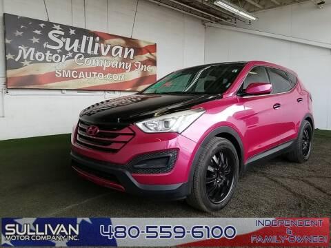 2014 Hyundai Santa Fe Sport for sale at SULLIVAN MOTOR COMPANY INC. in Mesa AZ
