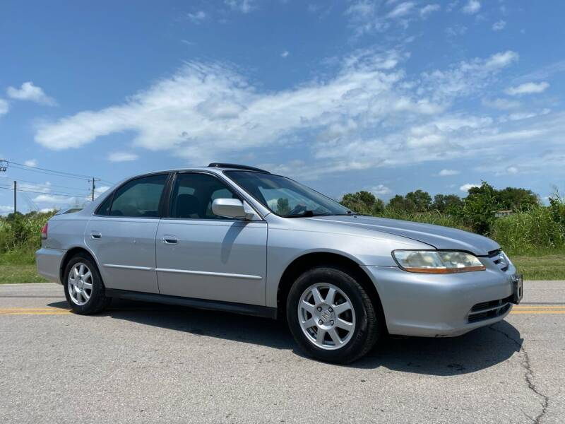 2002 Honda Accord for sale at ILUVCHEAPCARS.COM in Tulsa OK