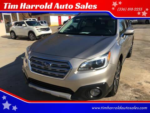 2015 Subaru Outback for sale at Tim Harrold Auto Sales in Wilkesboro NC