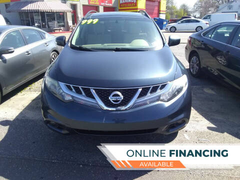 2011 Nissan Murano for sale at Marino's Auto Sales in Laurel DE