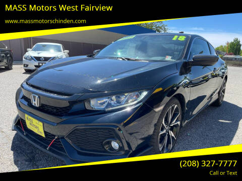 2018 Honda Civic for sale at M.A.S.S. Motors - West Fairview in Boise ID