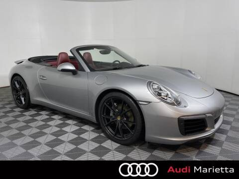 2017 Porsche 911 for sale at CU Carfinders in Norcross GA