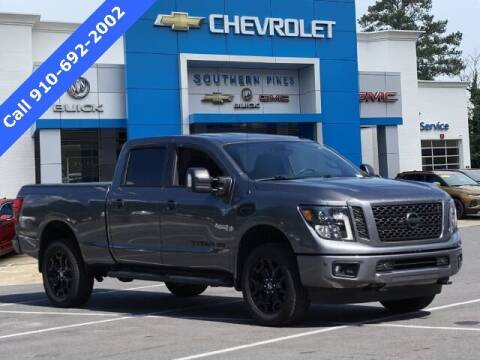 2019 Nissan Titan XD for sale at PHIL SMITH AUTOMOTIVE GROUP - SOUTHERN PINES GM in Southern Pines NC