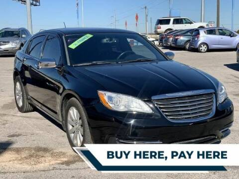 2014 Chrysler 200 for sale at Stanley Direct Auto in Mesquite TX