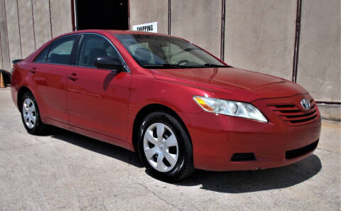 2008 Toyota Camry for sale at M G Motor Sports in Tulsa OK