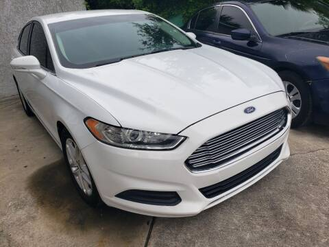 2015 Ford Fusion for sale at Track One Auto Sales in Orlando FL