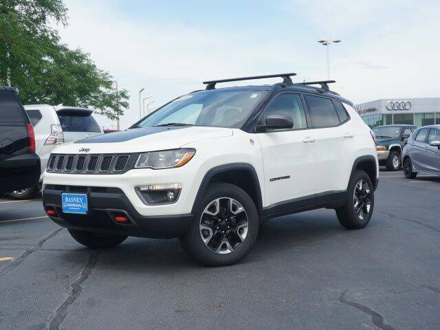 2018 Jeep Compass for sale at BASNEY HONDA in Mishawaka IN